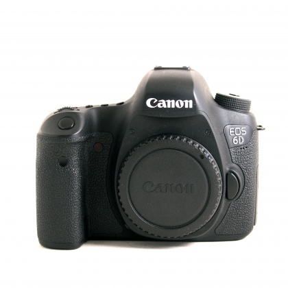 Used Canon EOS 6D body with BG-E13 Grip