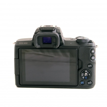 Used Canon EOS M50 with 15-45