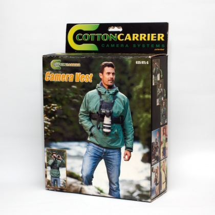 Used Cotton Carrier Camera Vest