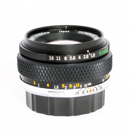 Used Olympus Zuiko 50mm f1.8 OM