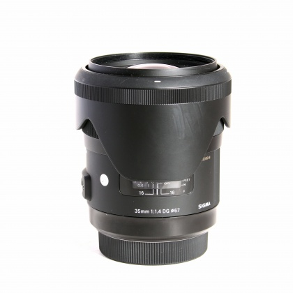 Used Sigma DG Art 35mm f.14 - A Mount Sony