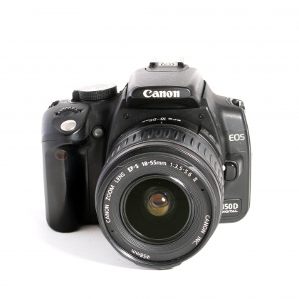 Used Canon EOS 350D with 18-55mm F3.5/5.6 lens