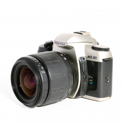 Used Pentax MZ-30 with Tamron 28-80mm & Sigma 70-210mm