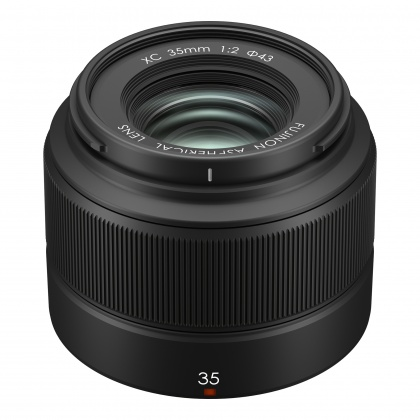 Fujifilm XC 35mm f2, Black