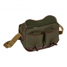 Billingham Eventer Camera Bag, Sage Fibrenyte/Chocolate Trim
