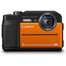 Panasonic Lumix FT7 Tough Digital Camera, Orange