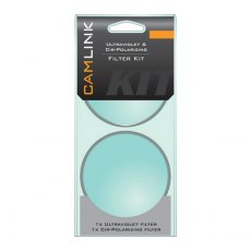 Camlink 55mm UV and Circular Polarising filters