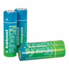 Hahnel Synergy AA 2500mah x4, pre-charged