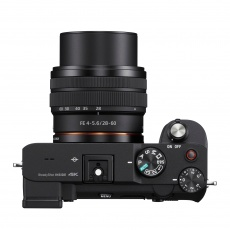 Sony Alpha 7C Mirrorless Camera Body, Black with 28-60mm Lens