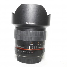Used Samyang 10mm f2.8 ED AS NCS for EOS