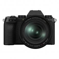 Fujifilm X-S10 with XF16-80mmF4 R OIS WR, Black