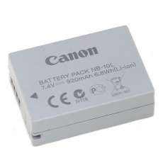 Canon NB-10L, Battery Pack
