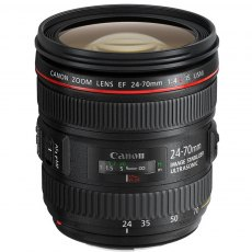 Canon EF 24- 70mm f4 L IS USM lens