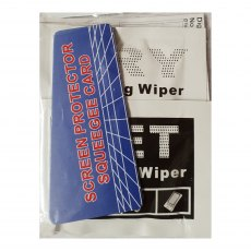 Jessop LCD Screen protectors, set of three 8x9cm