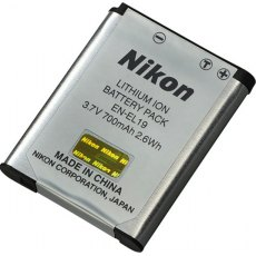 Nikon EN-EL19 Rechargeable Li-ion Battery, 700mah