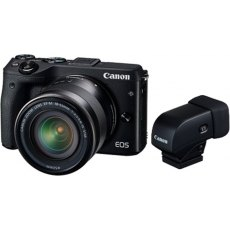 Canon EOS M3 EF-M 18-55mm View Finder Kit