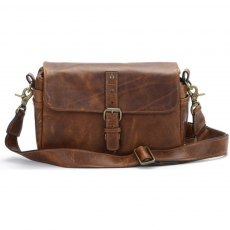 Ona Bowery Messenger Bag, Antique Cognac Leather