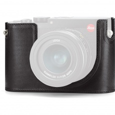 Leica Protector for Leica Q, black leather