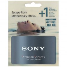Sony Silver Extended Service Plan, Single item, Plus 1