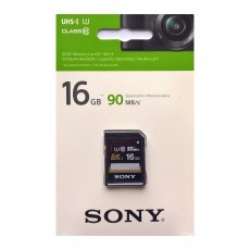 Sony SDHC card, 16gb UHS-1