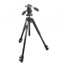 Manfrotto MK190XPRO3-3W Aluminium 3-Section Tripod With 3-Way Head