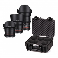 Samyang VDSLR Kit 2, 14/35/85 for Canon EOS