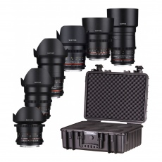 Samyang VDSLR Kit 5 (6 Lenses) for Sony FE