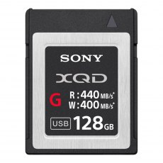 Sony XQD High Speed G-Series card, 128gb