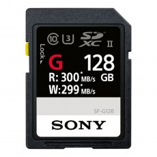 Sony SDXC card SF-G UHS-II, 128gb