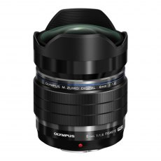 Olympus M.ZUIKO DIGITAL ED 8mm f1.8 Pro Lens, black