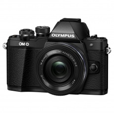 Olympus OM-D E-M10 Mark III Camera with 14-42mm EZ Lens, black