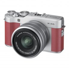 Fujifilm X-A5, Pink with Silver XC 15-45 lens