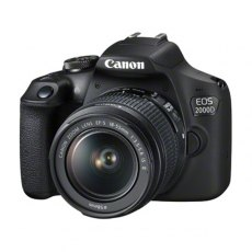 Canon EOS 2000D Camera with 18-55mm IS II lens