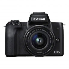 Canon EOS M50 Camera with 15-45mm lens, Black