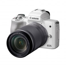 Canon EOS M50 Camera with 18-150mm lens, White