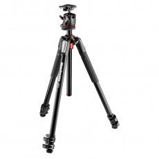 Manfrotto MK055XPRO3-BHQ2 Aluminium Tripod with XPRO Ball Head and plate