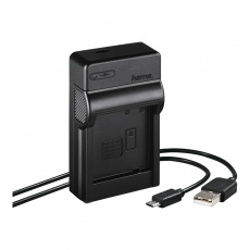 Hama Travel USB Charger for Panasonic DMW-BLG10