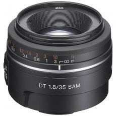 Sony DSLR Lens, 35mm F1.8 SAM