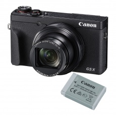Canon PowerShot G5 X Mark II Digital Camera, Battery Kit