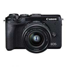 Canon EOS M6 Mark II EF-M 15-45mm, EVF-DC2 kit, Black