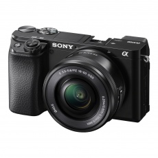 Sony Alpha 6100 Mirrorless Camera with 16-50mm Lens