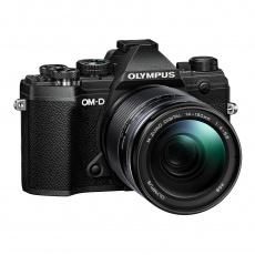 Olympus E-M5 Mark III Mirrorless Camera, Black with 14-150mm Lens