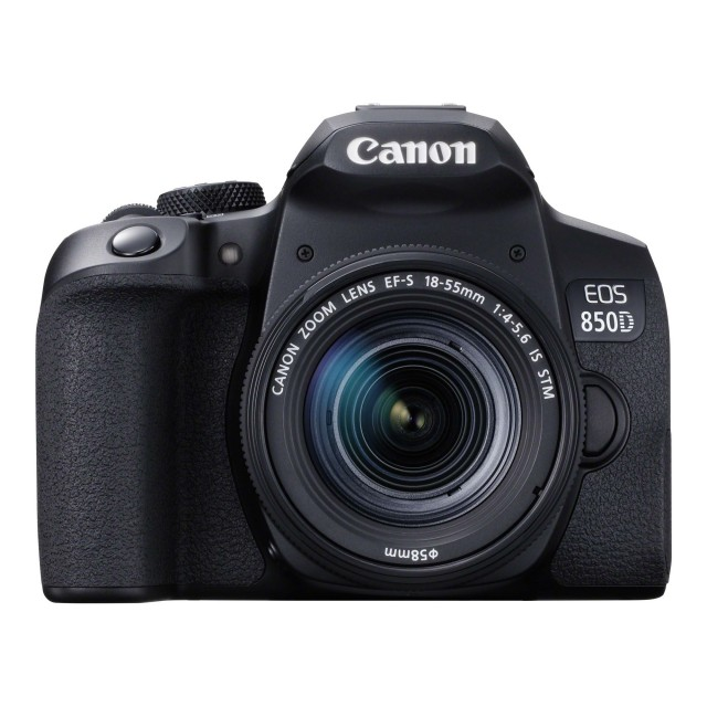 Canon Canon EOS 850D DSLR Camera with 18-55mm f4-5.6 IS STM Lens