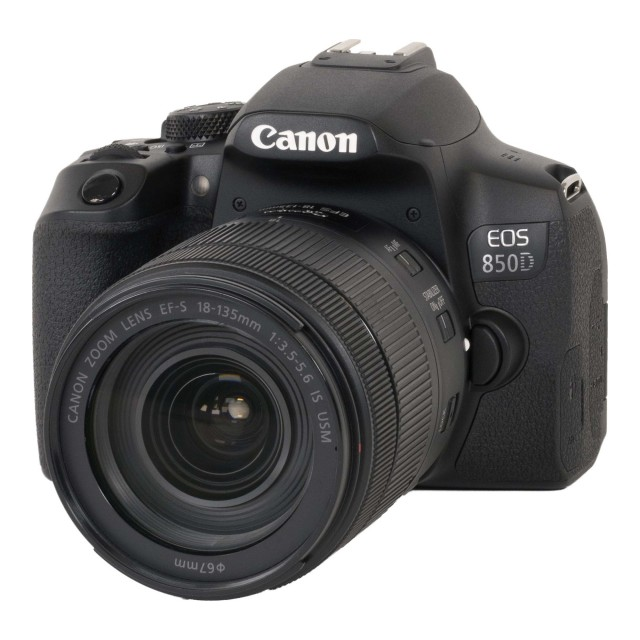 Canon Canon EOS 850D DSLR Camera with 18-135mm f3.5-5.6 IS USM Lens