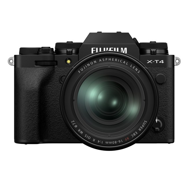 Fujifilm Fujifilm X-T4 Kit with XF 16-80mm lens, Black