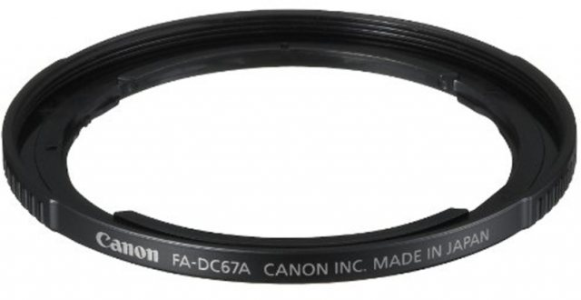 Canon Canon 67mm filter adapter FA-DC67A