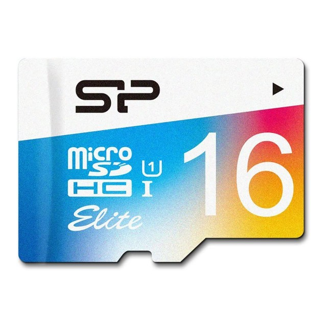 Silicon Power Silicon Power Micro SDHC card, 16 gb UHS-1 Elite with SD adaptor