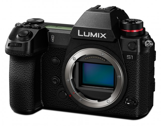 Lumix Panasonic Lumix S1 Mirrorless Camera Vlogging Kit