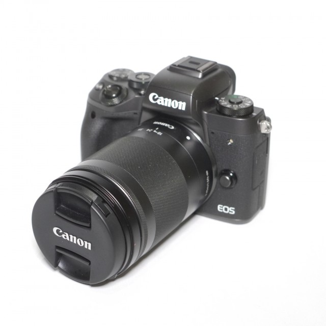 Canon Used Canon EOS M5 Black with 18-150mm lens