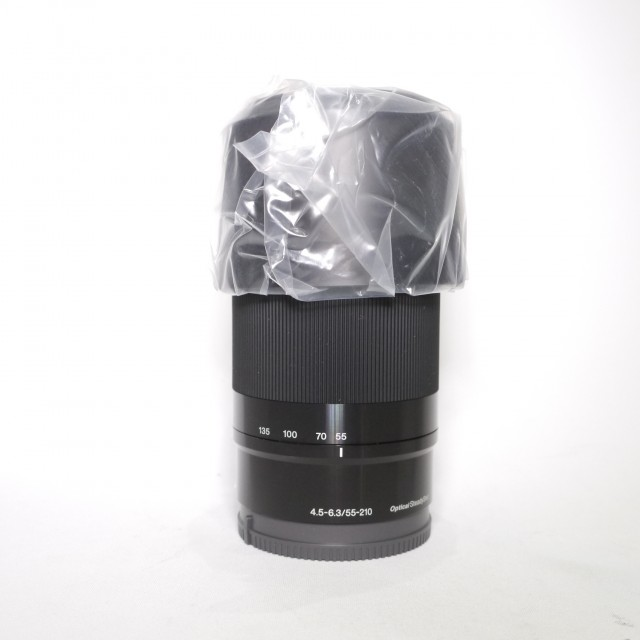 Sony Sony E 55-210mm F4.5-6.3 Black zoom lens, Re-boxed